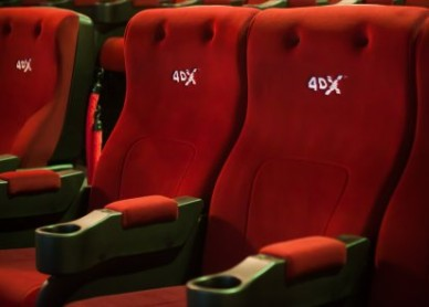 4DX chairs