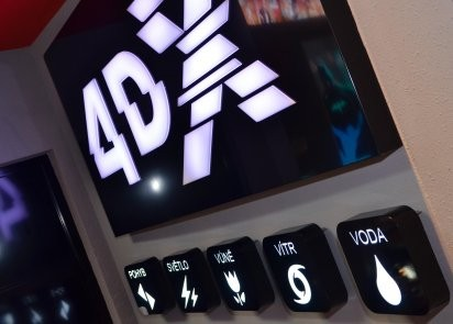 4DX auditorium in CC Novy Smichov in Prague